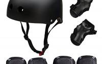 Skateboard-Skate-Protection-Set-with-Helmet-SymbolLife-Helmet-with-6pcs-Elbow-Knee-Wrist-Pads-for-Kids-BMX-Skateboard-Scooter-For-Head-M-58-60cm-Black-6.jpg