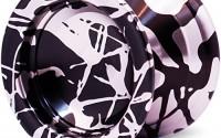 Silver-Black-Splashes-Responsive-Yo-Yo-Professional-Sidekick-Pro-YoYo-2.jpg