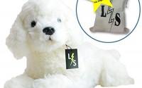 LightningStore-Adorable-Cute-Sleeping-Lying-White-Poodle-Stuffed-Animal-Doll-Realistic-Looking-Plush-Toys-Plushie-Children-s-Gifts-Animals-Toy-Organizer-Bag-Bundle-2.jpg