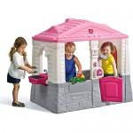 SupremeToys-Cottage-Playhouse-Pink-Kids-Outdoor-Playhouses-Indoor-Playset-Backyard-Playground-Girls-Children-Fun-Toy-Garden-House-New-16.jpg