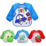 EchoDone-4-Packs-Waterproof-Children-s-Art-Smock-Kids-Painting-Aprons-Long-Sleeve-Baby-Smock-for-Eating-1-4-Years-6.jpg